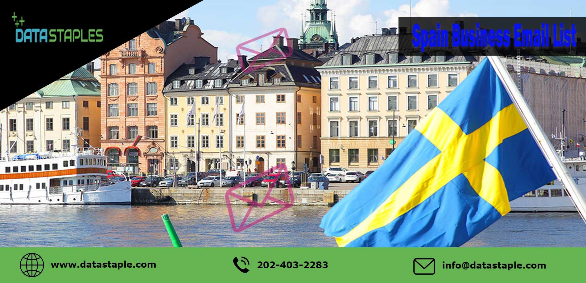 Sweden Business Email List | DataStaples