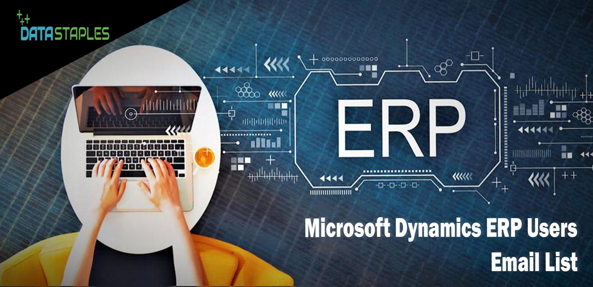 Microsoft Dynamics ERP Users Email List   DataStaples
