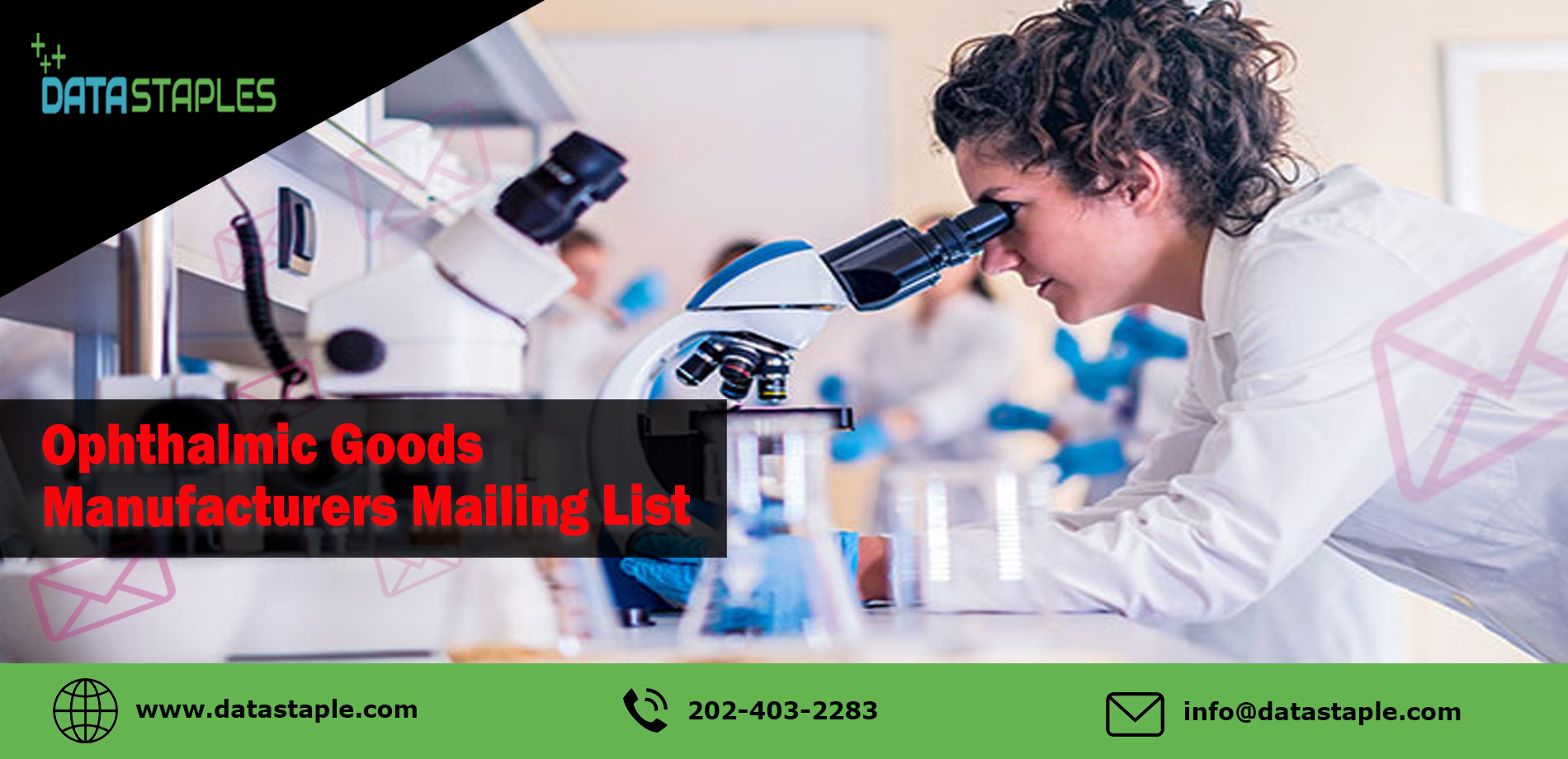 Opthalmic Goods Manufacturers Mailing List | DataStaples
