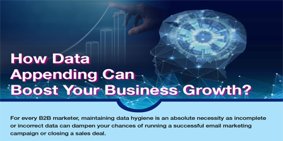 How Data Appending Can Boost Your Business Growth | DataStaples