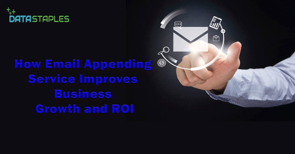 How Email Appending Service Improves Business Growth and ROI | DataStaples