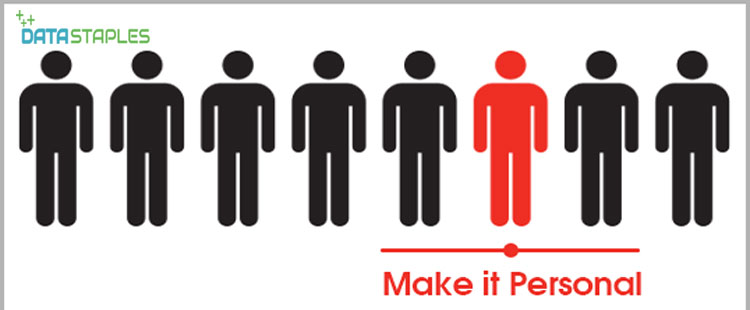 Make It Personal | DataStaples